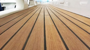 Innovative teak decking | DUCA Solutions