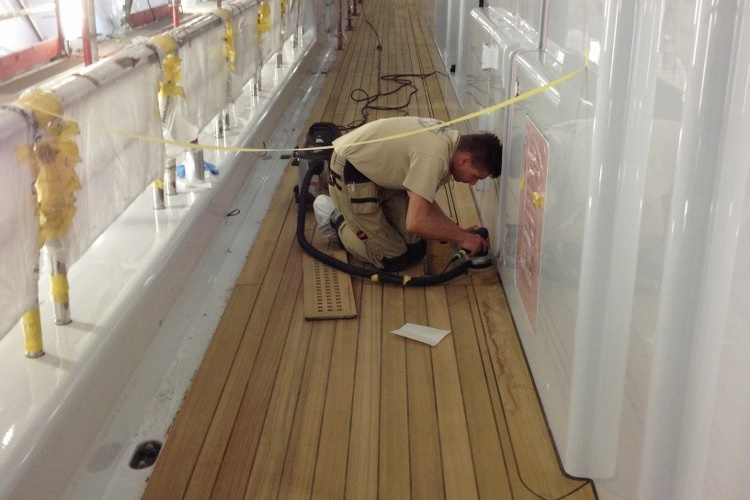 Deck refit and renovation by Duca Solutions