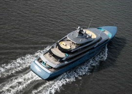 New 98 meter luxury mega yacht M/Y Aviva with all decks by DUCA Solutions