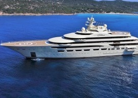 DUCA Solutions taking part in teak refit of M/Y Dilbar in Barcelona