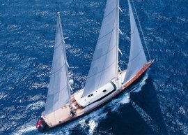 All teak decks of Perini S/Y Squall replaced by DUCA Solutions in Mallorca